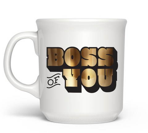 "Fred & friends Say Anything ""Boss of You"" Mug"