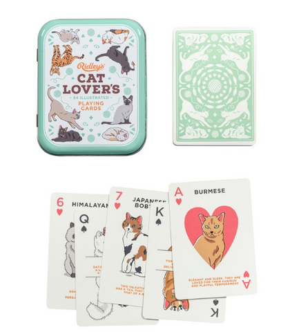 Ridley's Cat Lover's Playing Cards