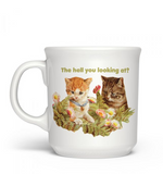"Fred & friends Say Anything ""The Hell You..."" Mug"