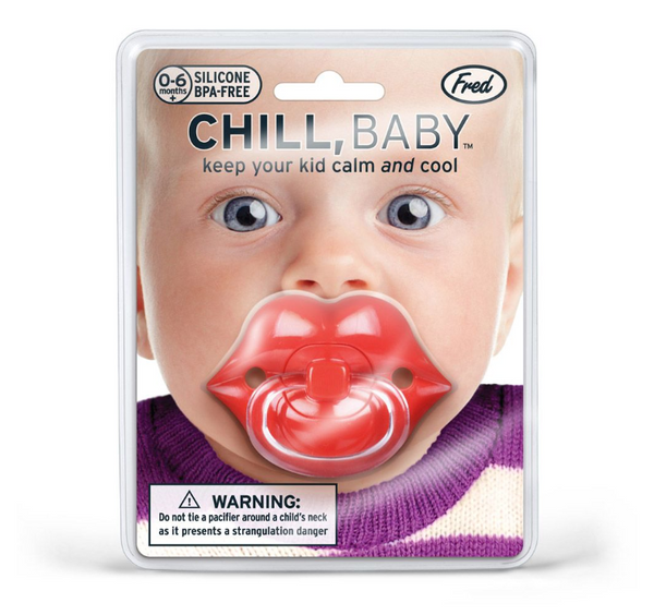 Fred - Chill, Baby Lips Pacifier