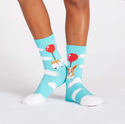 Sock It To Me - Junior Socks Pup, Pup and Away