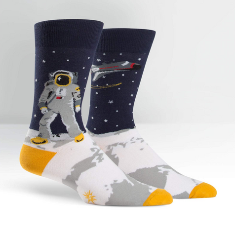 Sock It To Me - Men's Socks One Giant Leap