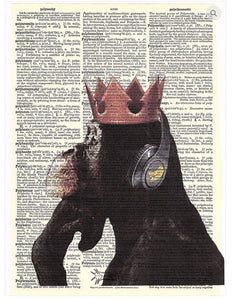 ArtnWordz Print - The Brass Monkey