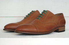 Men's Goodyear Welted Honey Tan Oxford