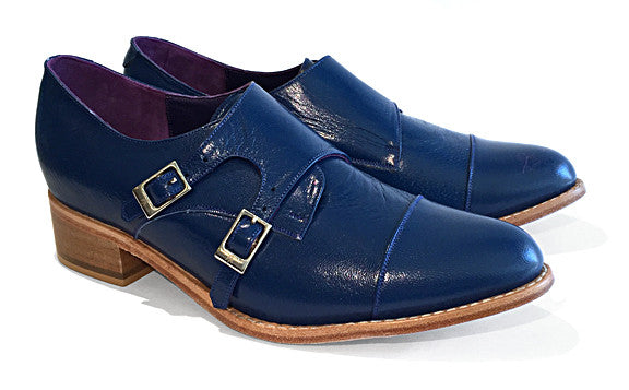 Women's Veneto Monkstrap Electric Blue