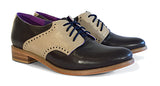 Women's Veneto Saddle Shoe Chocolate & Tan