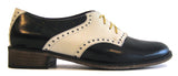 Women's Veneto Saddle Shoe Black