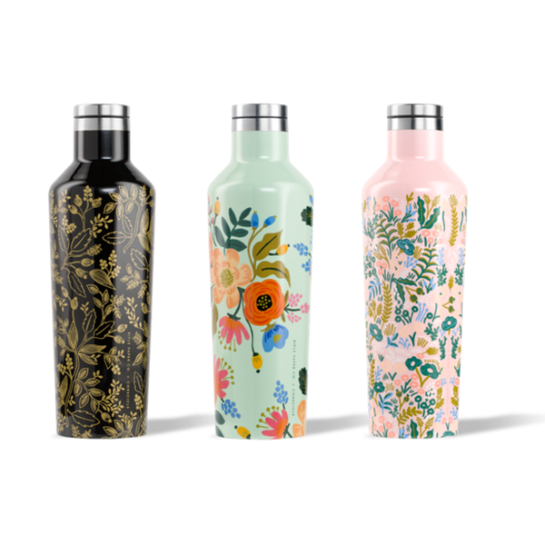 Corkcicle Rifle Paper Co. Canteen Lively Floral