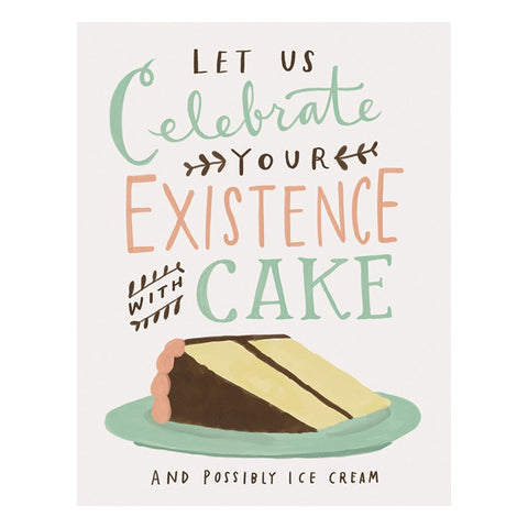 Emily McDowell & Friends Card - Celebrate With Cake