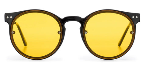 Spitfire Sunglasses - Post Punk Black / Yellow