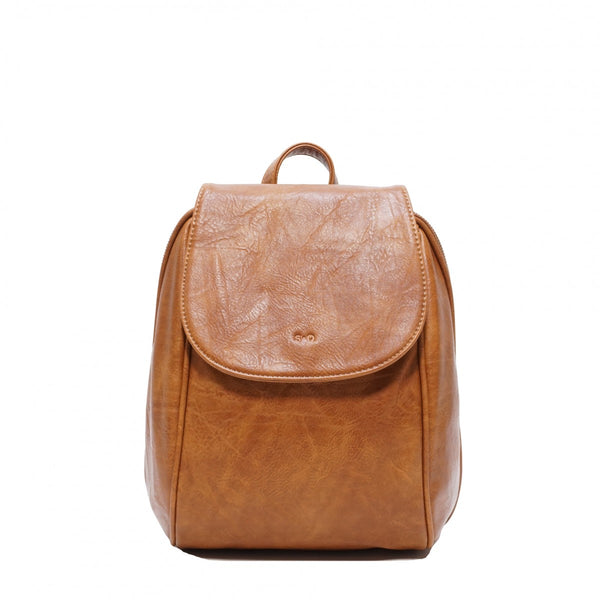 S-Q Jada Convertible Backpack - Camel