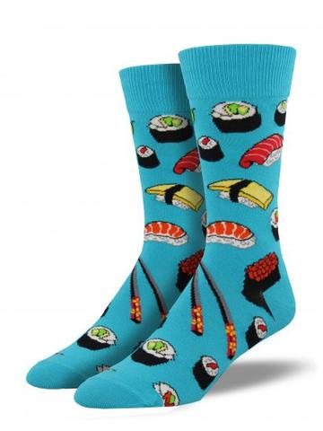 Socksmith - Men's Socks - Crew - Sushi