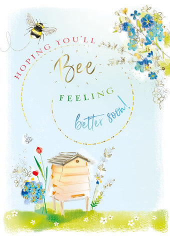Ling Design - Hoping You'll Bee Feeling Better Soon