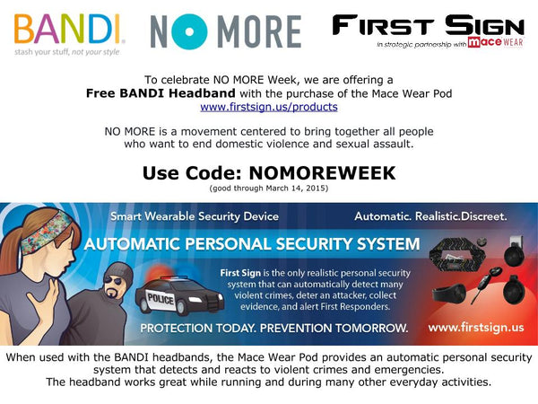 First Sign Automatic Personal Security System NO MORE Special Offer