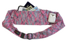 Strata Pink/Grey Large Pocket Belt