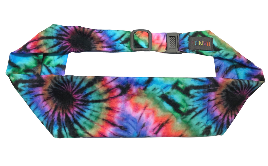 Feelin' Groovy Large Pocket Belt