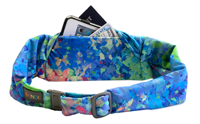 Kaleidoscope Large Pocket Belt