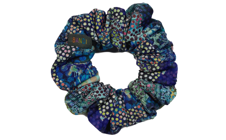 Rainforest Scrunchie