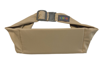 Taupe Kids Pocketed Belt