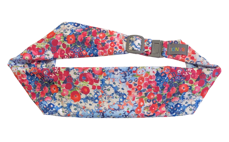 Poppies Pocketed Belt