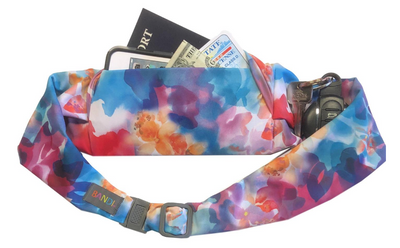 Watercolor Large Pocket Belt