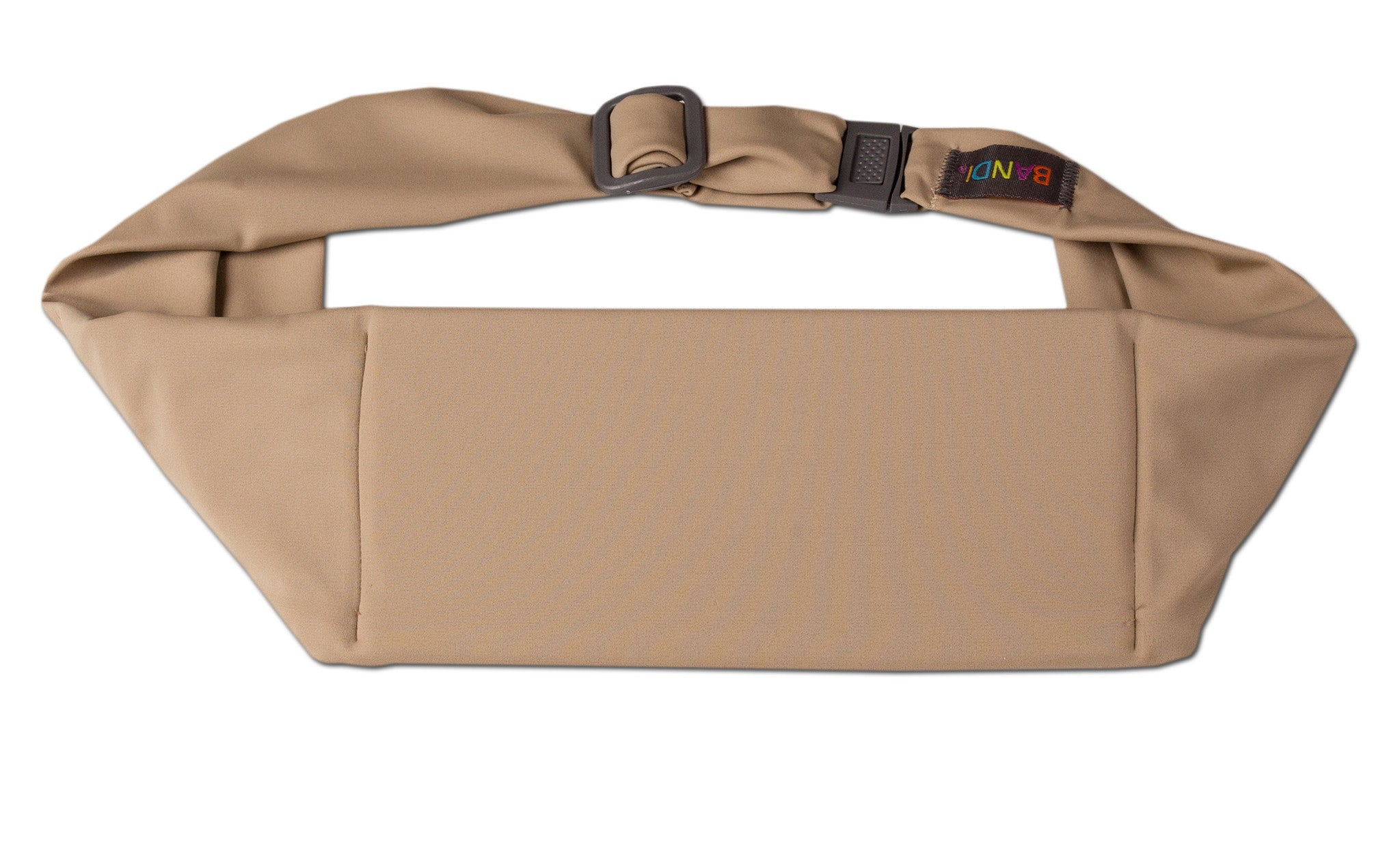Taupe Large Pocket Belt