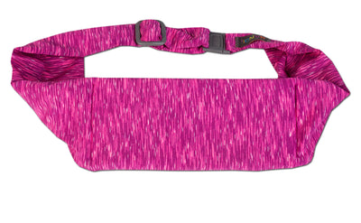 Strata Fuchsia/Violet Large Pocket Belt