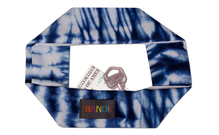 Electric Indigo Headband