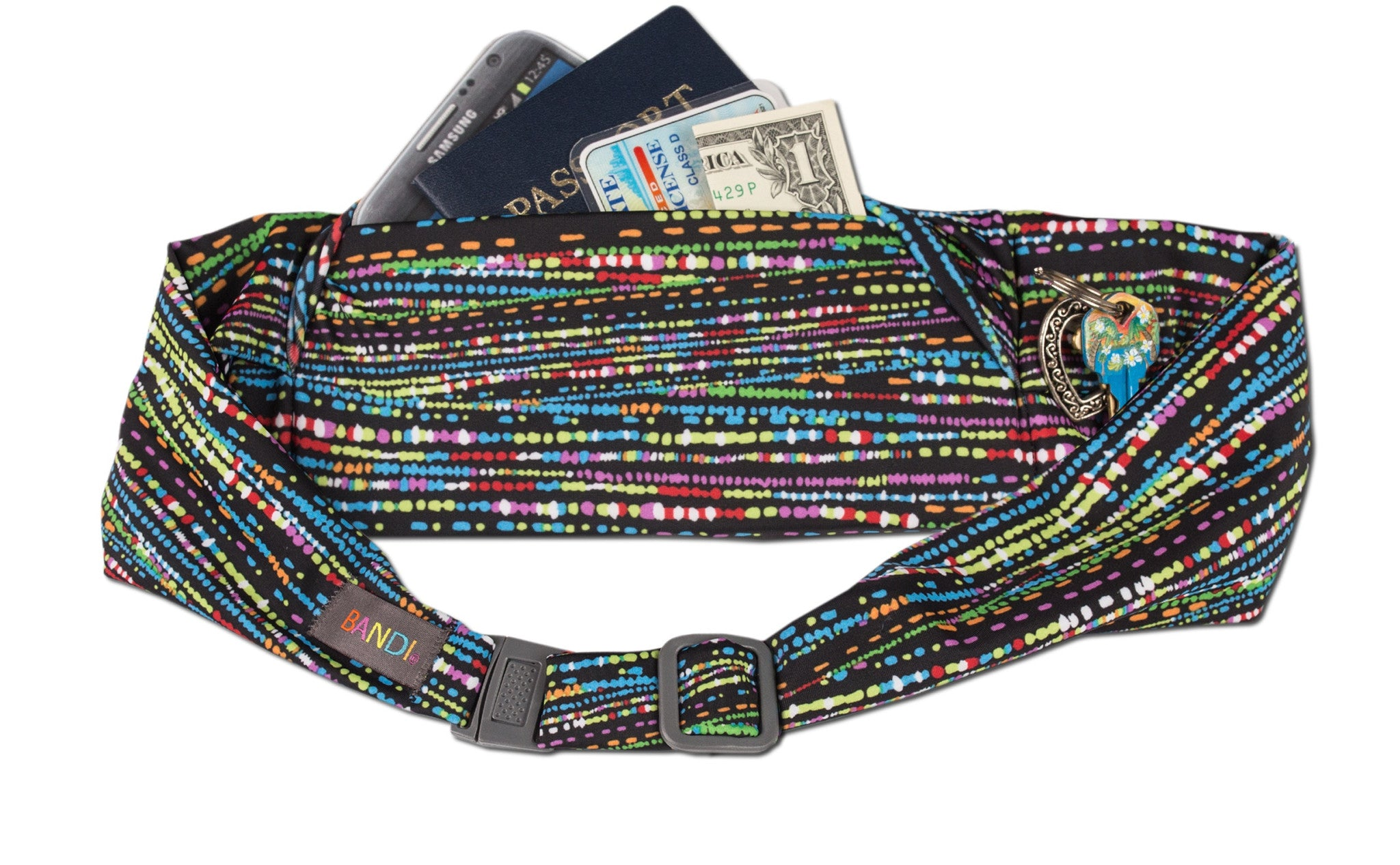 Confetti Large Pocket Belt