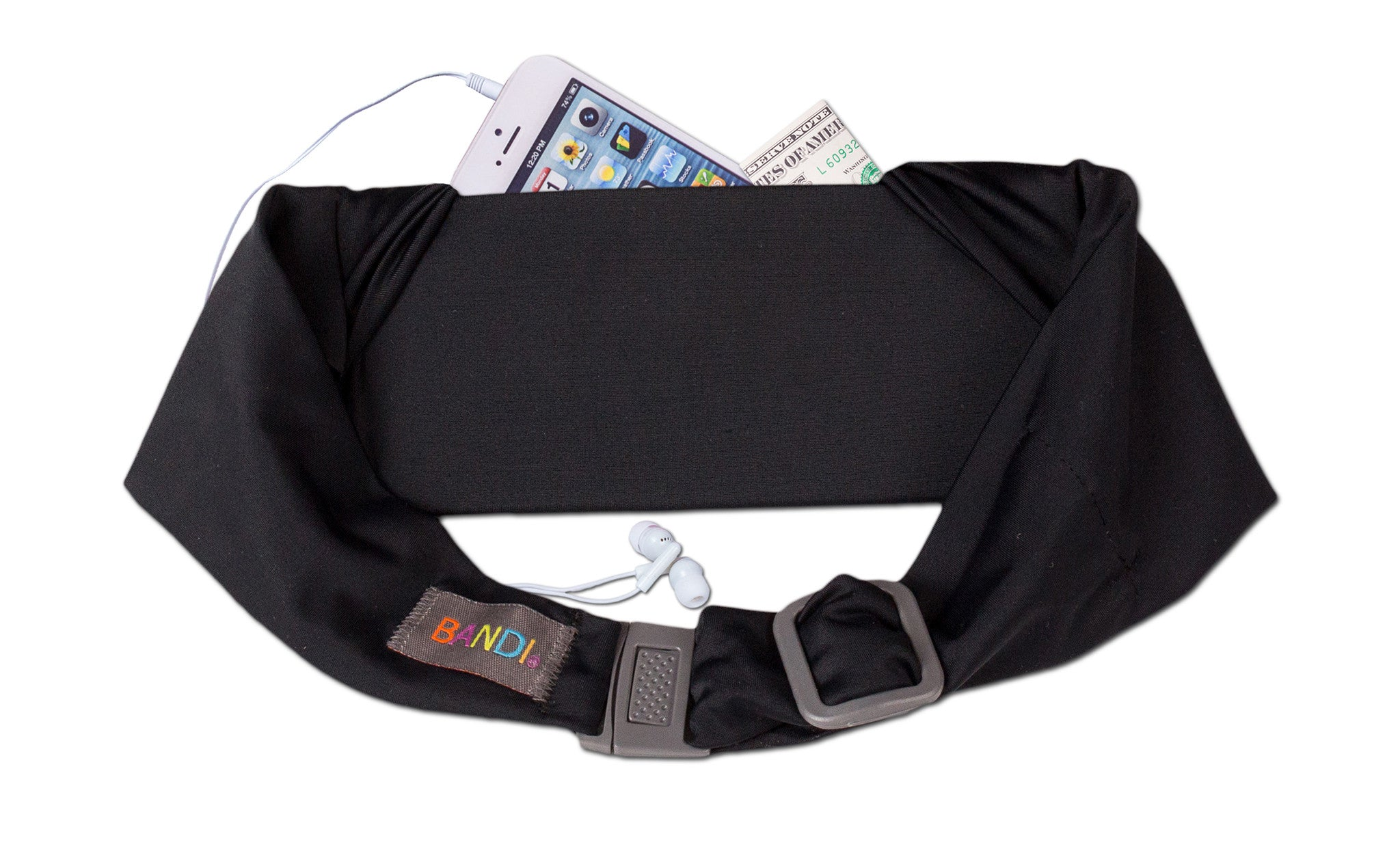 Black BANDI® Kids Pocket Belt
