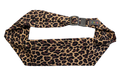 Leopard Pocketed Belt