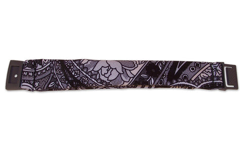 Black Paisley Belt Extender