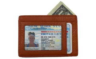 Terracotta Slim RFID Wallet