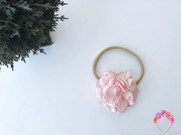Silk Satin Carnation - Blush