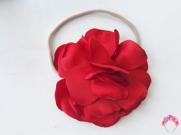 Silk Satin Carnation - Red