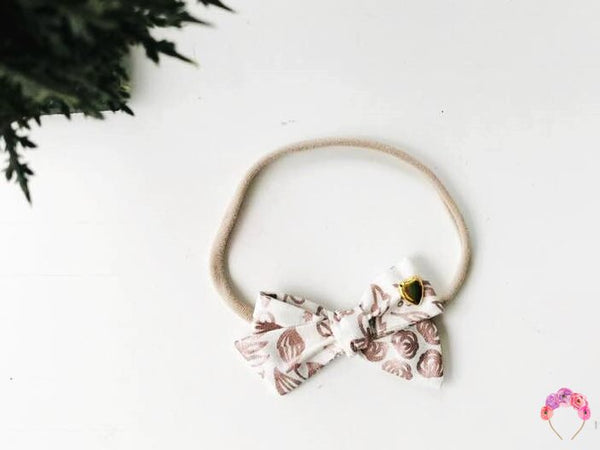 Rose Gold School girl Bow