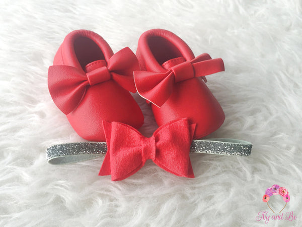 Red Bow Mocc