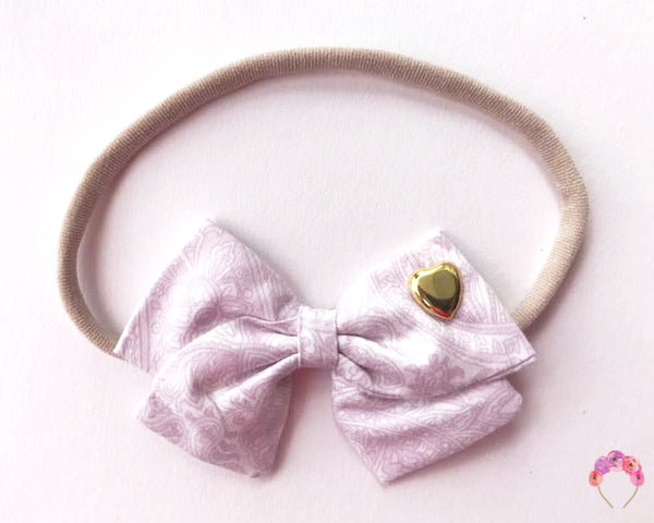 Crossover Pink Boroque Bow