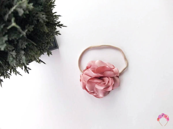 Silk Satin Carnation - Dusty Pink