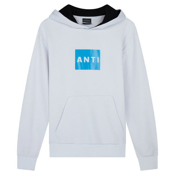 ANTI Square Hoody - White