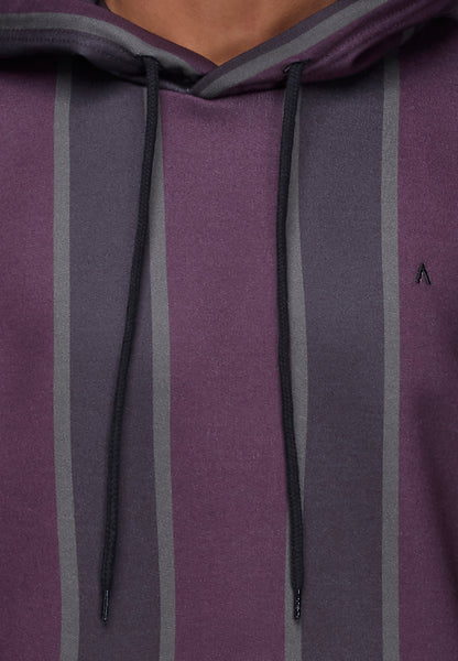 ANTIOCH VERTICAL STRIPE HOOD