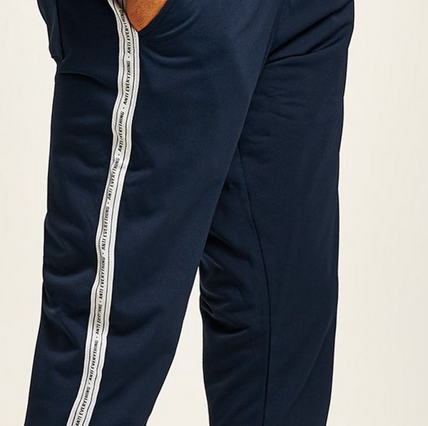 ANTIOCH NAVY JOGGER WITH ANTI EVERYTHING TAPING