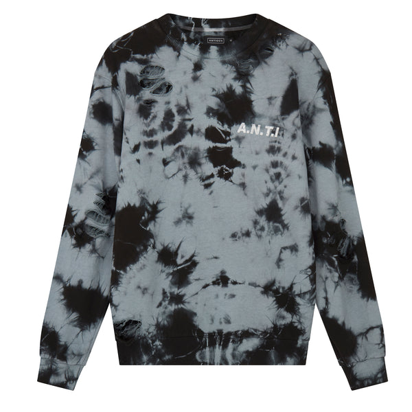 Tie Dye Sweat - Grey