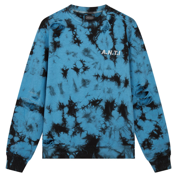 Tie Dye Sweat - Blue