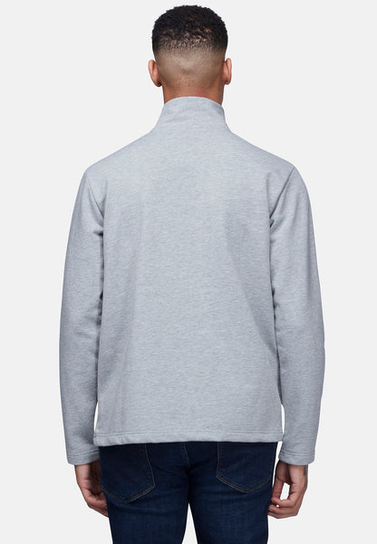 PANELLED QUARTER ZIP TOP