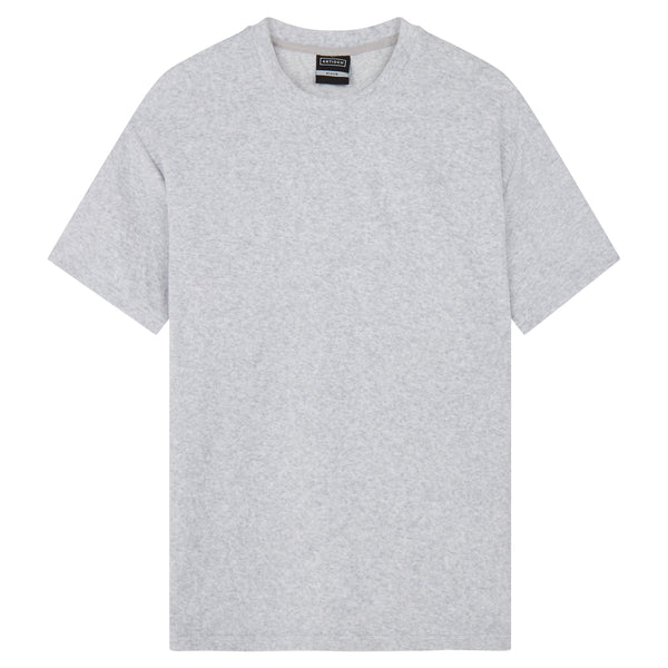 Oversized Towelling T-Shirt - Grey