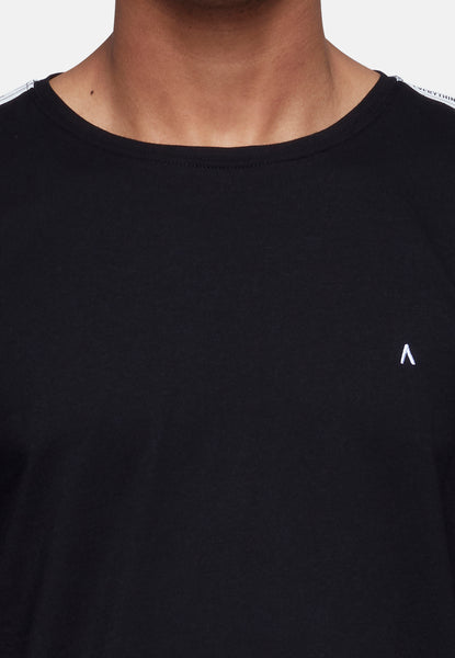 ANTIOCH BLACK TAPING T-SHIRT