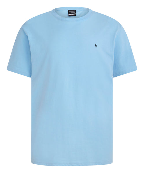 ANTIOCH LIGHT BLUE EMBROIDERY T-SHIRT