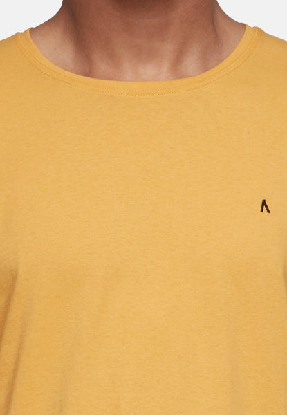 ANTIOCH YELLOW EMROIDERY T-SHIRT