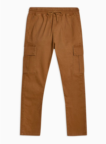 ANTIOCH RUST ELASTICATED CARGO PANT